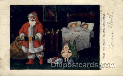 hol000376 - Santa Claus Postcards Post Card