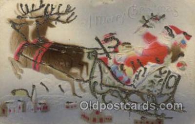 hol000380 - Santa Claus Postcards Post Card