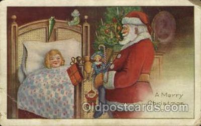 hol000384 - Santa Claus Postcards Post Card
