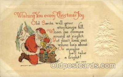 hol000389 - Santa Claus Postcards Post Card
