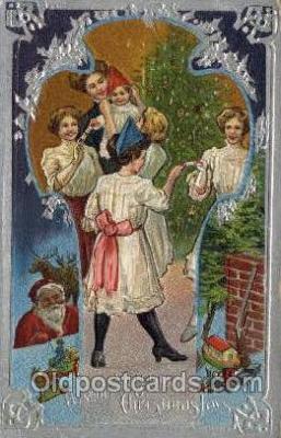 hol000397 - Santa Claus Postcards Post Card