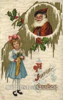hol000423 - Santa Claus Postcards Post Card