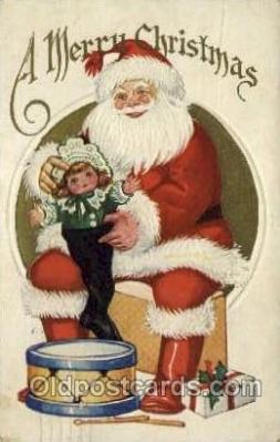 hol000432 - Santa Claus Postcards Post Card