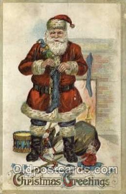 hol000436 - Santa Claus Postcards Post Card