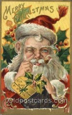 hol000440 - Santa Claus Postcards Post Card