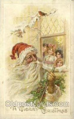 hol000442 - Santa Claus Postcards Post Card