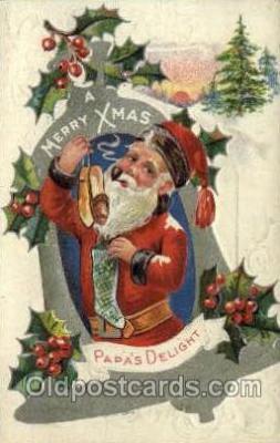 hol000444 - Santa Claus Postcards Post Card