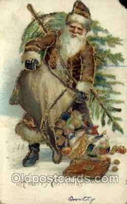 hol000450 - Santa Claus Postcards Post Card