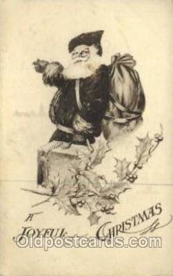 hol000464 - Santa Claus Postcards Post Card