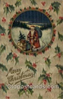 hol000465 - Santa Claus Postcards Post Card
