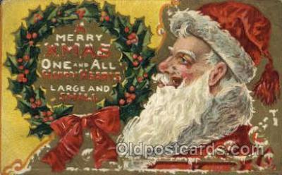 hol000491 - Santa Claus Postcards Post Card