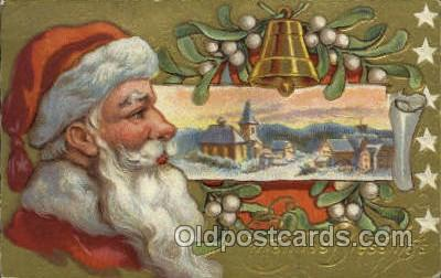 hol000496 - Santa Claus Postcards Post Card