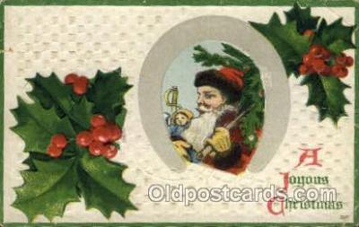 hol000507 - Santa Claus Postcards Post Card