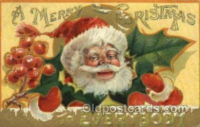 hol000508 - Santa Claus Postcards Post Card