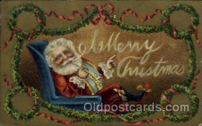 hol000511 - Santa Claus Postcards Post Card