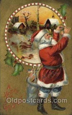 hol000542 - Santa Claus Postcards Post Card