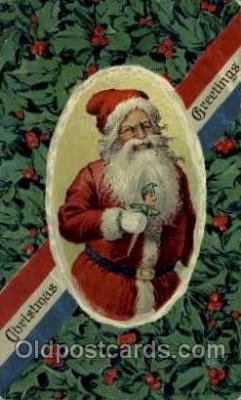 hol000565 - Santa Claus Postcards Post Card