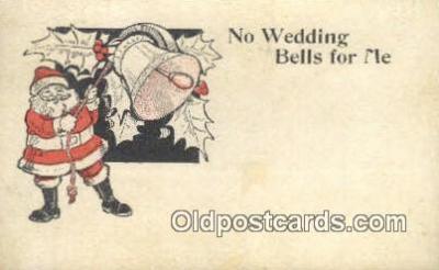 hol000613 - Santa Claus Old Vintage Antique Postcard Post Card