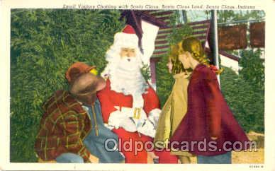 hol001438 - Holiday, Santa Claus, Christmas, Postcard Postcards