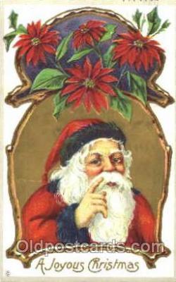hol001488 - Santa Claus, Christmas, Postcard Postcards