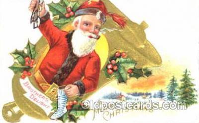 hol001601 - Santa Claus, Christmas, Postcard Postcards