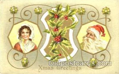 hol001607 - Santa Claus, Christmas, Postcard Postcards
