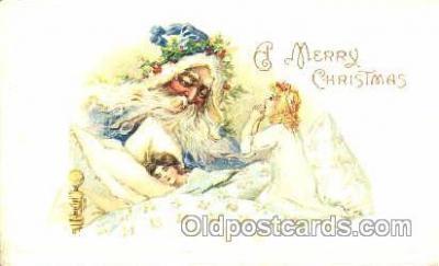 hol001624 - Santa Claus, Christmas, Postcard Postcards