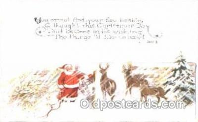 hol001646 - Santa Claus, Christmas, Postcard Postcards