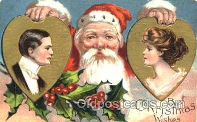 hol001650 - Santa Claus, Christmas, Postcard Postcards