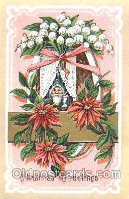 hol001665 - Santa Claus, Christmas, Postcard Postcards