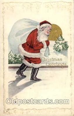 hol001714 - Santa Claus, Christmas, Postcard Postcards