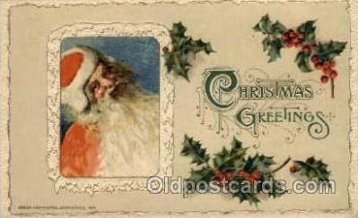 hol001742 - John Winch 1912, Santa Claus, Christmas, Postcard Postcards