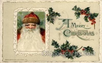 hol001905 - John Winsch Santa Claus Postcard Postcards