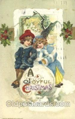 hol001950 - Christmas Santa Claus Postcard Postcards