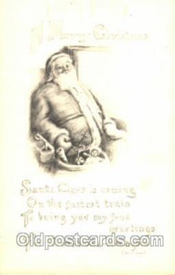 hol002294 - Santa Claus, Christmas, Postcard Postcards