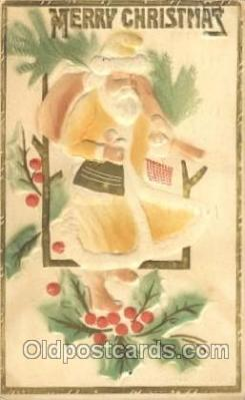 hol002323 - Santa Claus Christmas Postcard Postcards