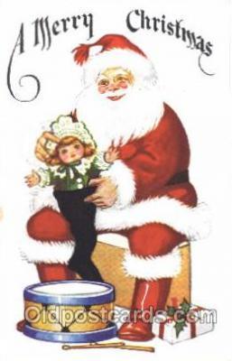 hol002327 - Santa Claus Christmas Postcard Postcards