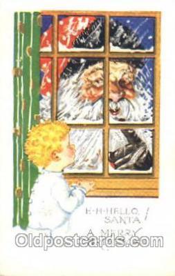 hol002330 - Santa Claus Christmas Postcard Postcards