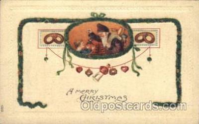 hol002373 - Santa Claus Christmas Postcard Postcards