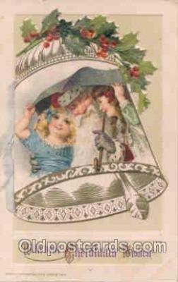 hol002501 - Christmas, Santa Claus Winch Folder Postcard Postcards
