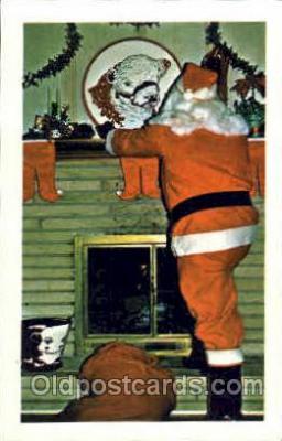 hol002572 - Santa Claus Christmas Postcard Postcards