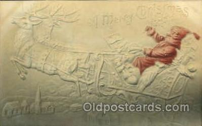 hol002597 - Santa Claus Christmas Postcard Postcards