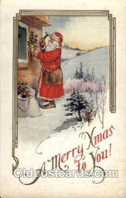 hol002607 - Santa Claus, Christmas, Xmas, Postcard Postcards