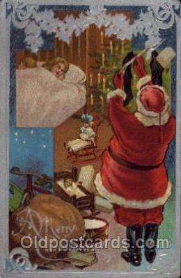 hol002628 - Santa Claus, Christmas, Xmas, Postcard Postcards