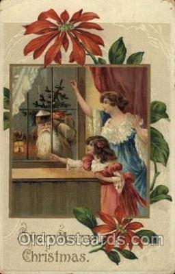 hol002640 - Santa Claus, Christmas, Xmas, Postcard Postcards