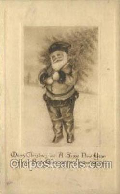 hol002859 - Santa Claus Holiday Christmas Post Cards Postcard