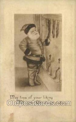 hol002861 - Santa Claus Holiday Christmas Post Cards Postcard