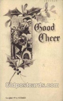 hol002864 - Santa Claus Holiday Christmas Post Cards Postcard
