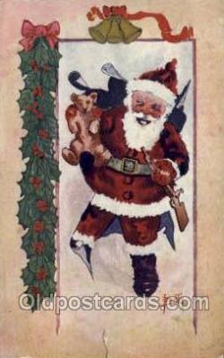 hol002905 - Santa Claus Holiday Christmas Post Cards Postcard