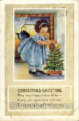 hol003056 - Christmas Santa Claus Postcard Postcards